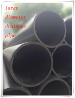 high quality large diameter PE drainage pipe