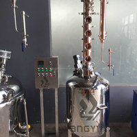 200L Alcohol Copper Vodka Alcohol Distillation
