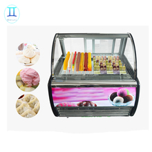 italian commercial ice cream display cabinet / mini ice cream cake freezer / gelato case