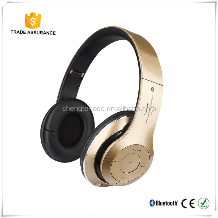 Factory directly supply high quality and low price colorful wireless bluetooth headphone