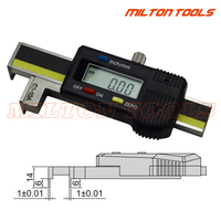 Digital Gap and Step Gauge Electronic Digital Car Door Panel & Gap Gauge Moulding Alignment Gauge Measuring Tool