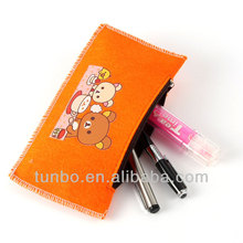 lovely stationery zipper tin pencil box pencil case