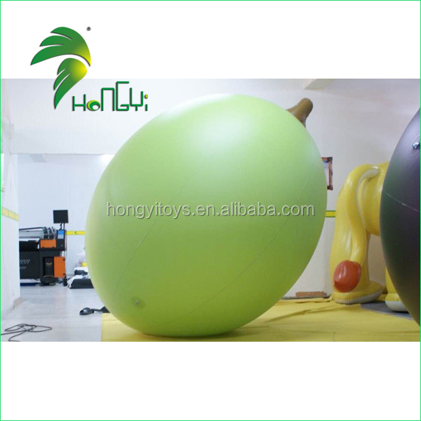 Hongyi PVC inflatable fruit model/pvc inflatable cherry/inflatable adverting products
