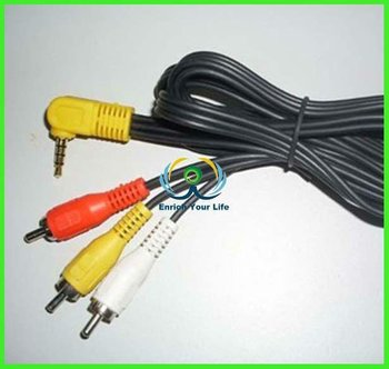 High quality USB 2.0 AM To 3 Rca cable