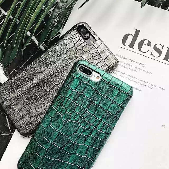 2017 NEW Luxury Laser Crocodile Pattern PU Leather Phone Cases For Apple iPhone 6plus Cover Fashion Case For iPhone 6Plus