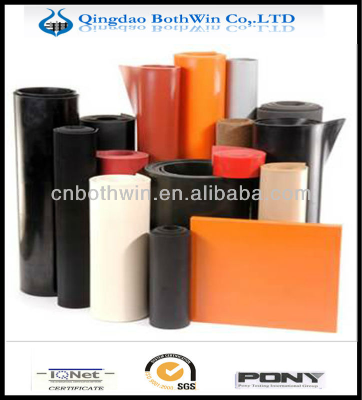 ASTM/DIN/ISO oil-proof rubber sheeting