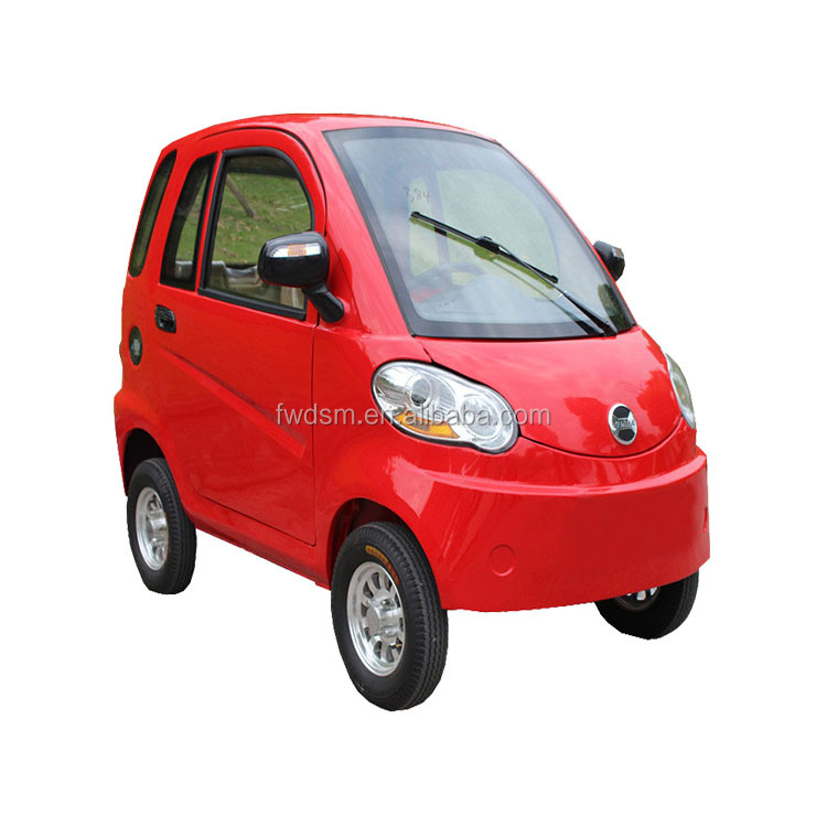 2016 new cheap 4 wheels handicap electric vehicle