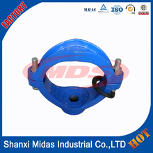 high pressure ductile iron hydraulic pipe clamp