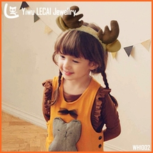 2015 Christmas Reindeer Headband Brown Antlers Hair Accessories Xmas Fancy Dress