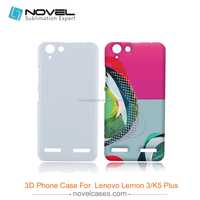 Hot Sale 3D Sublimation Phone Case Cover for Lenovo K5 Plus, DIY Phone Case Cover
