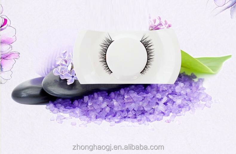 Private label cosmetics natural beauty siberian mink fur lashes / false eyelashes extension