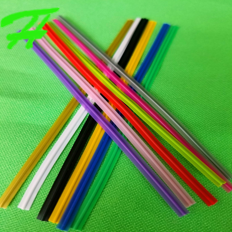 pvc cable ties garden plant using pe twist ties toys packing plastic coated wire