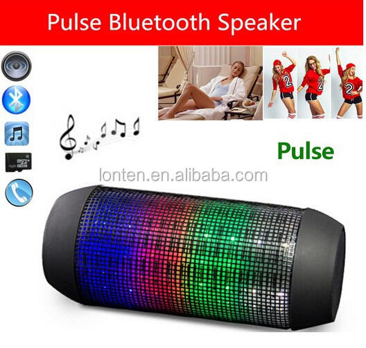 Pulse Portable wireless bluetooth mini speaker mini bluetooth speaker with led light