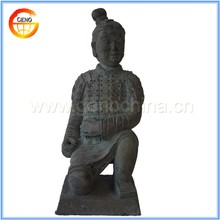 Life Size Kneeling Chinese Figurine Terracotta Warrior Sale