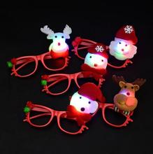 Christmas Decoration 2017 LED Hair bands brooch Christmas Lights Funny Toys For Children