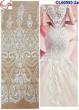 Light wedding lace 2017 top fashion comfortable color net lace African hot sale beautiful fancy plain design tulle lace fabric