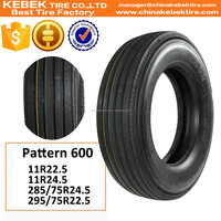 Importing Rubber Korean Tyre With Special Design 295/75R22.5