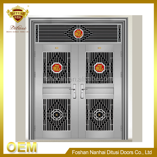 High quality cheap custom safety stainless steel doors and windows JH12