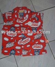 cotton children's sleepwear
