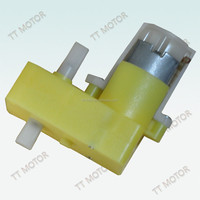 Double Shaft Gear Motor Plastic Gearbox