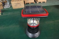 Auto-rechargable portable solar flying insect killing lamp,solar energy automatic light trap