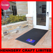 Front Outdoor Rubber Entrance custom design door mat