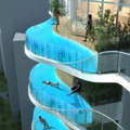 PG Customized Clear Acrylic Glass for Swimming Pools