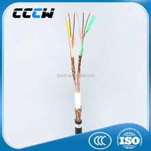 PVC insulated twisted copper wire weave partially shielded and fully shielded PVC sheathed computer control cable