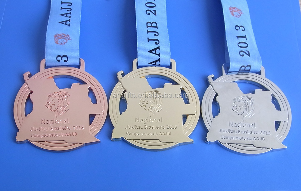 hollow out logo medal Sport Awards Medals for Sport Players for winner