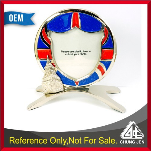 ODM beautiful designed London Big Ben picture frame for memento