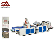 High output ce automatic hot cutting plastic bag making machine