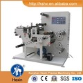 HX-320C label slitting and rotary die cutting machine