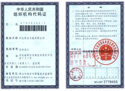 Institutional Framework Code Card