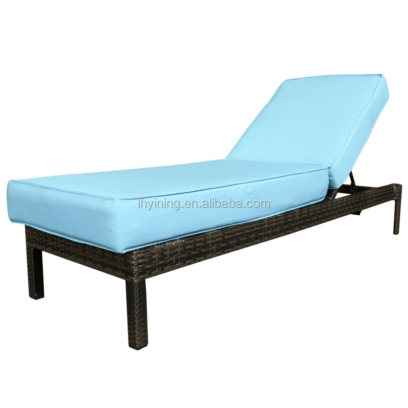 cheap rattan sun lounge bed sun lounger swimming pool furniture outdoor living furniture hotel furniture