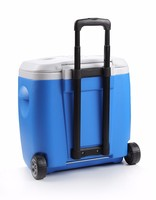 picnic 48L plastic cooler box portable with wheels