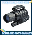 4x40 Digital night vision monocular camera, with video out, taking photo, SD card memory, Viewing 400-700m