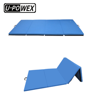 hot sale Massage thick folding Panel Exercise Aerobics gymnastic Mat for Stretching Yoga or sports gym mat