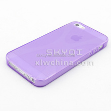 dot view jelly TPU back cover mobile phone case for iphone 5 6