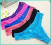 2015 Top Selling Hot Women Pictures Exotic Sexy Women's Underwear Thong Lace Color and Size For Your Option