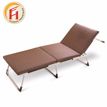 Cheap Folding Bed with Memory Foam Mattress and Strong Steel Frame made in China