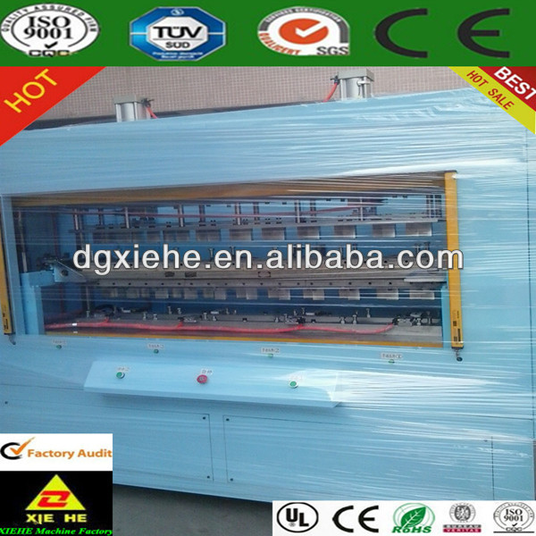 Plastic car bumper making welding machine