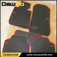 rubber material clear disposable plastic car mats