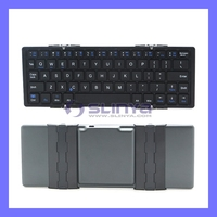 Alloy Foldable Bluetooth 3.0 Mini Keyboard For Android Mobile S3 Laptop 7 Inch Tablet PC