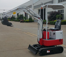 Excellent Design Used Mini Excavator XN08 800kg 0.025 bucket For Sale