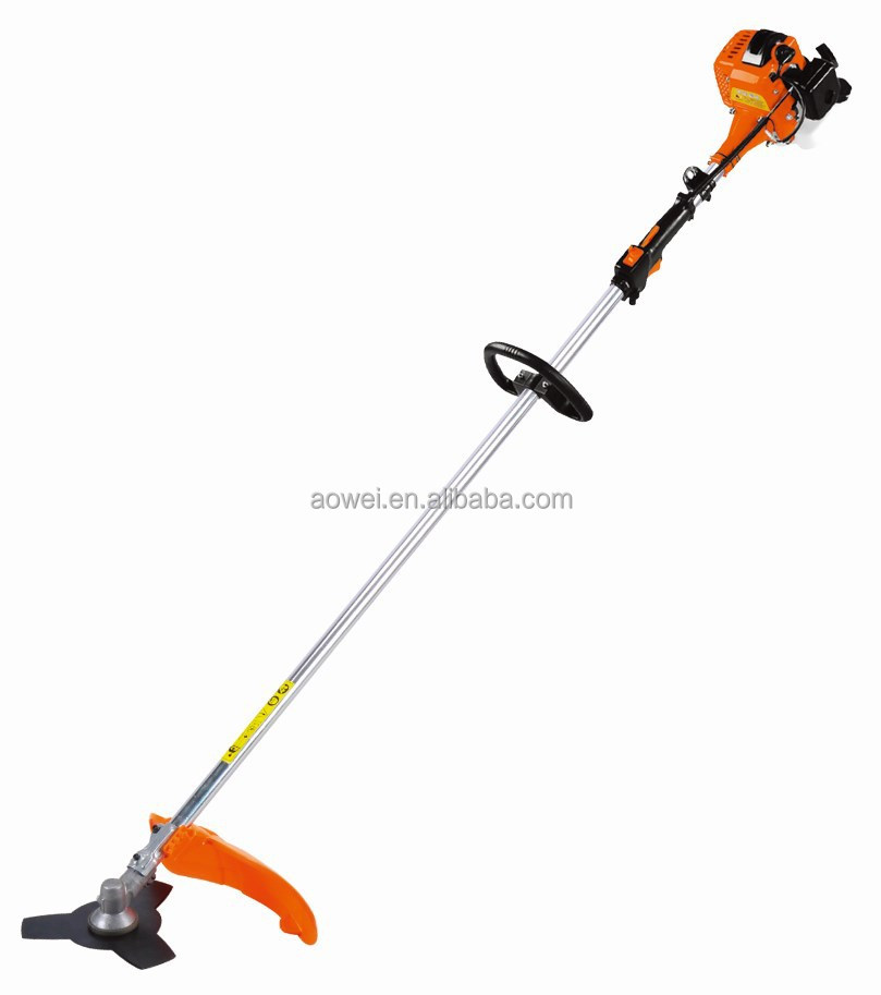 Hot sale 26cc gasoline brush cutter with 2 stroke engine GX35