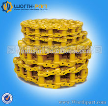 Bulldozer track chains forged high pressure link chain link tracks crawler chain tracks