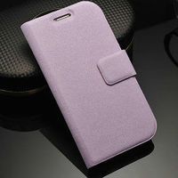 popular genuine leather book style wallet flip case cover for samsung galaxy s3 i9300