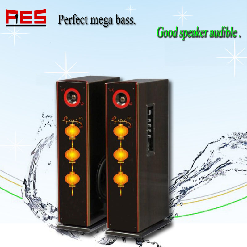 Professioanl home theatre speaker popular mini new year gift speaker with usb sd