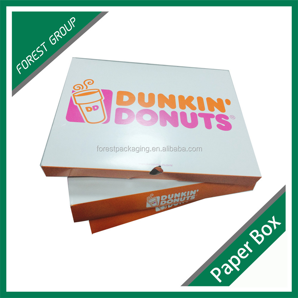 Custom made paper food delivery packaging box