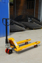 Iran hot selling low price 2500kg CBY hand pallet truck with hand brake